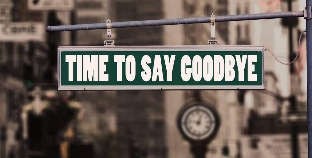 Time to say goodbye - Verhalten bei selbstgewählter Kündigung